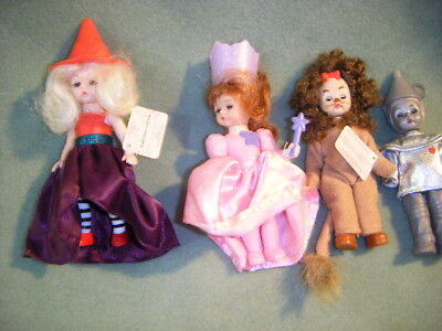 LOT of 4  MCDONALD MADAME ALEXANDER DOLLS,WIZARD OF OZ