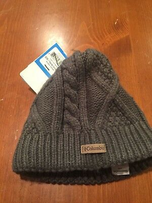 3e3c2eafd1383 Columbia Women s Cabled Cutie Beanie Hats One Size MSRP  30 NWT New Gray