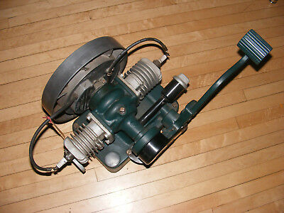 Maytag Gas Engine Motor Model 72D Twin Wringer Washer