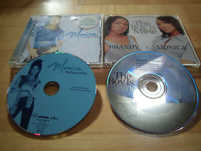 Monica - The Boy Is Mine Album+Maxi - 2 CDs
