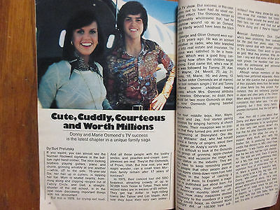 August 7, 1976 TV Guide (DONNY AND MARIE/MARIE  OSMOND//DONNY OSMOND/PAPER ROSES