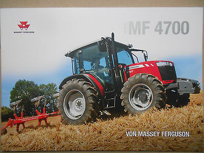 massey ferguson mf 3600 traktoren prospekt 11 2011 eur 4. Black Bedroom Furniture Sets. Home Design Ideas