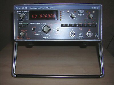Philip PM 6622 timer/counter frequency 80Mhz