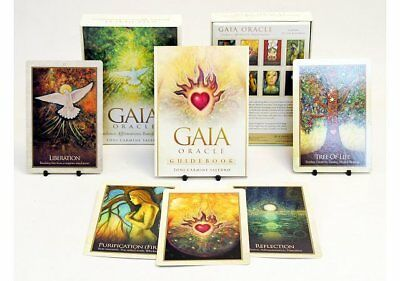 GAIA Oracle Cards Deck Salerno Earth Divine Energy Affirmation Healing Messages