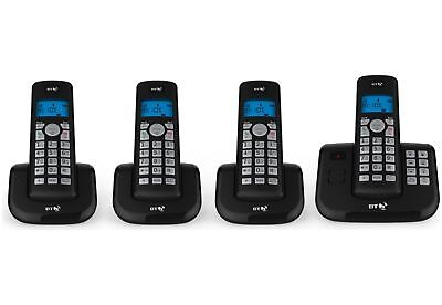 BT 3560 Cordless Telephone with Answer Machine 50 Name and Number Memories Quad
