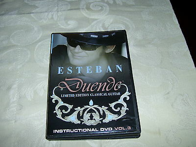 Esteban Duende Limited Edition Classical Guitar Instructional Dvd Vol.3 Learning