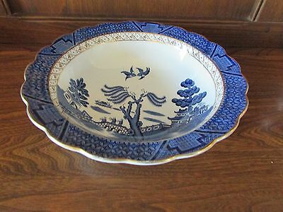 Vintage Booths~Real Old Willow~Serving Bowl 23cms DiameterX5cms Deep Reg A8025