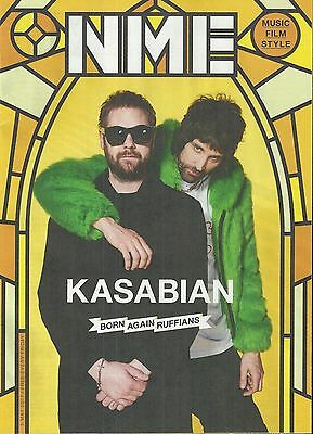 NME Magazine - 5 May 2017 Kasabian Cover/Shawn Mendes/ShaunRyder