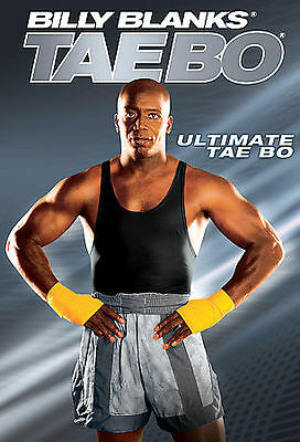 Billy Blanks ULTIMATE TAE BO (DVD) taebo workouts high energy kickboxing   NEW