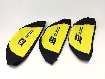 X3  ESAB WELDING - CUTTING PRODUCTS  Welding Cap,Beanie,Black, Large (3 PACK)