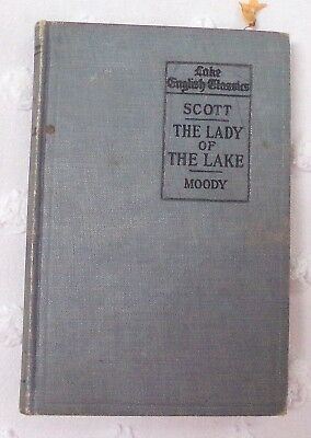 "Book,  1899's ""The Lady of the Lake""  by Sir Walter Scott"