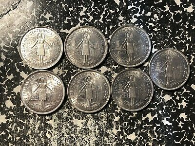 1940 New Zealand 1/2 Half Crown Silver! (7 Available) Scarce! (1 Coin Only)