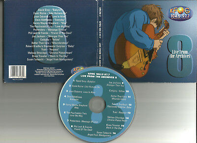 LIVE & ACOUSTIC CD w/ COLDPLAY Kenny Wayne Shepherd PHIL LESH David Gray TRAIN