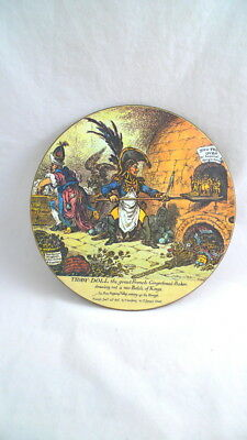 TIDDY-DOLL Great French Gingerbread Maker TRIVET HOT PLATE Tableware Lady Clare