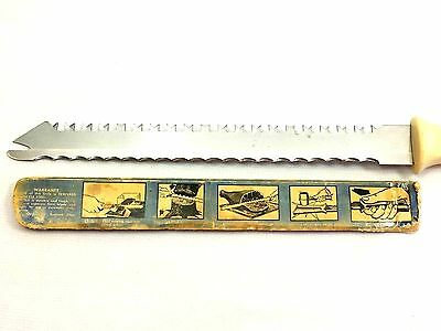 """Vintage Quikut """"Quikkle"""" utility knife American made 1960's tempered stainless"""