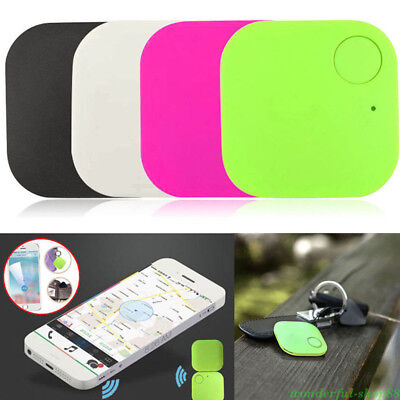 1PC Mini Square Tracker Finder Device Kids Pets Wallet Keys Alarm Locator