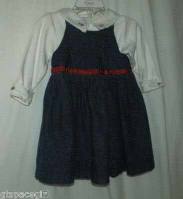 Baby Gap Denim Dress ~ Girls Size 6-12 months ~ Pre-owned