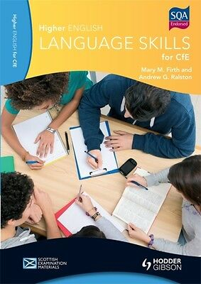 Higher English Language Skills for CfE (Paperback), Firth, Mary M...