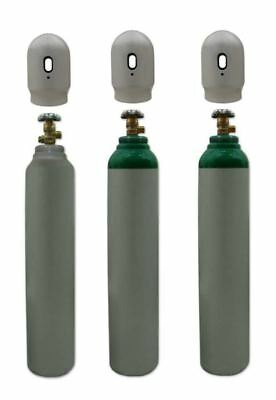 Oxygen O2 Gas Bottle Cylinder Full! 1.8m3 8L 150~180 Bar 3/4''EU Thread FreeUKDE