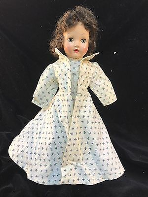 Vintage Homemade? Effanbee Dolls Clothes Dress With Jacket