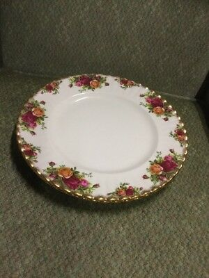 Royal Albert Old Country Roses Two Large Finger Plates