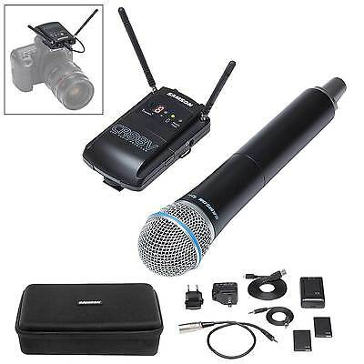 Samson SWC88VHQ8-D Concert 88 Camera Handheld UHF Wireless Microphone System