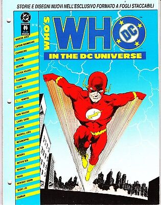 WHO'S WHO IN THE DC UNIVERSE n. 2   PLAY PRESS