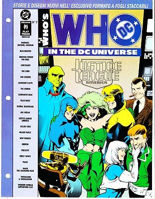 WHO'S WHO IN THE DC UNIVERSE n. 7    PLAY PRESS