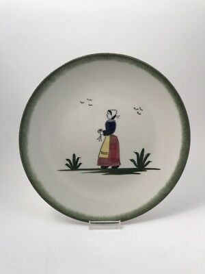 """Knowles hand painted under the glaze  set of 3 dinner plates 10 ¼"""" diameter"""