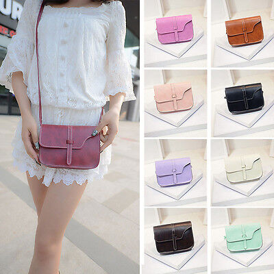 Women Leather Shoulder Bag Crossbody Handbag Tote Satchel Messenger Bag Purse US