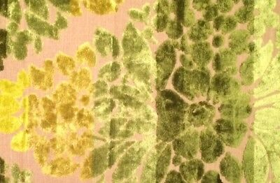 DESIGNERS GUILD Mon Plaisir Green Floral Italy Remnant New