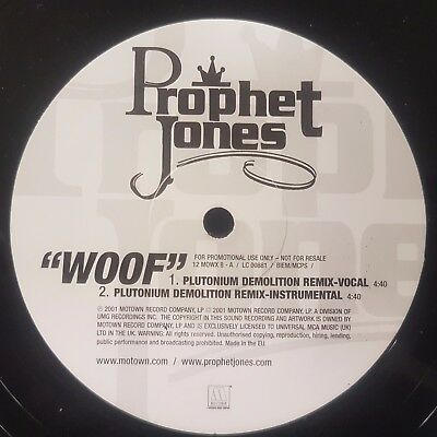 "Prophet Jones Woof 12"" Vinyl Single (1)"