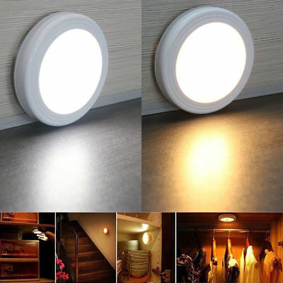 Motion Sensor LED Light Indoor Outdoor Garden Wall Patio Shed Battery Night Lamp