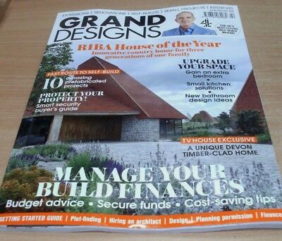 Grand Designs magazine FEB 2018 RIBA House of the Year, Upgrade your Space &