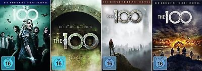 The 100 Staffel 1-4 (1+2+3+4) DVD Set NEU OVP the hundred,die hundert
