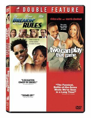Breakin' All the Rules/Two Can Play That Game (Double Feature, 2 discs) NEW!