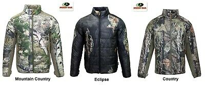 Mossy Oak Camo Men's Insulated Jacket Bomber  Camouflage - Hunting
