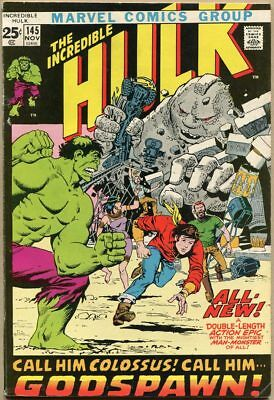 Incredible Hulk #145 - FN-