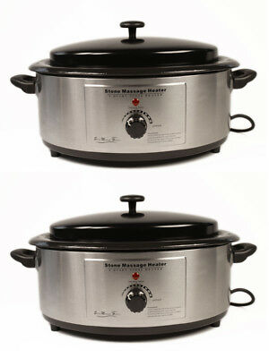 2 x 6 Quart Heaters for Hot Stone/Rock Massage NEW and CHEAPEST on eBay