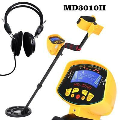 Underground Metal Detector Treasure Hunter LCD Display with Waterproof Coil N7U0