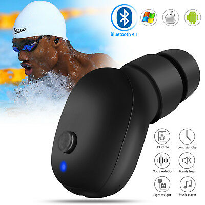 Bluetooth Wireless Waterproof Stereo Earphone Earbud Sport Headset Headphone