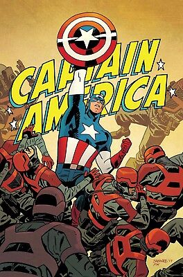 CAPTAIN AMERICA #695 LEGACY, New, First print, Marvel NOW (2017)