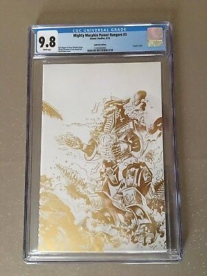 Mighty Morphin Power Rangers #3, Rubin Gold Foil Variant, Cgc 9.8, Boom! (2016)