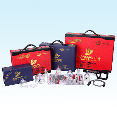 Hansol Medical Cupping Set / Set For Cupping Vacuum Massage Cupping Banki банки