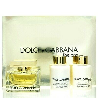 Dolce & Gabbana D&G The One SET EDP 75 ml + BL 100 ml + DG 100 ml NEU OVP