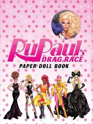 RuPaul Drag Race Paper Dolls by RuPaul's Drag Race (Board book, 2017)