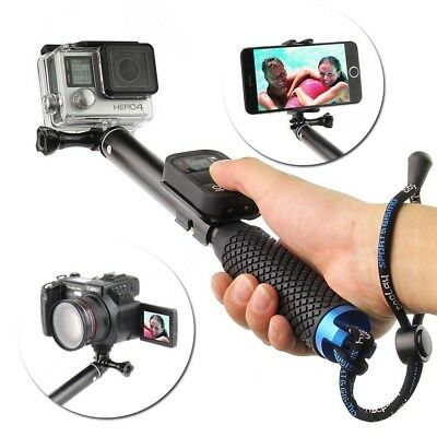 "37"" Extendable Selfie Stick Pole Handheld Monopod for iPhone8/7/6 & GoPro 7/6/5"