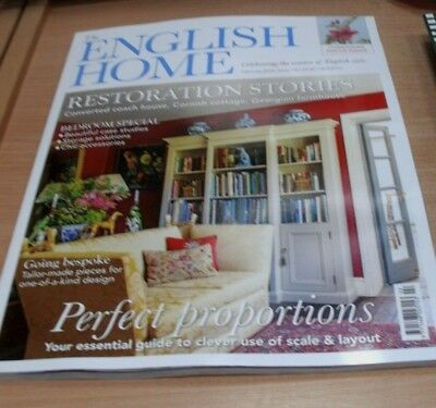 The English Home magazine FEB 2018 Chinoiserie Focus, Restoration Stories & more
