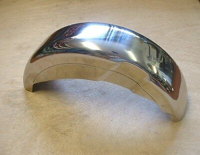 Lambretta  Series 2  Stainless Rear Mudguard