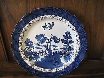 Vintage Booths~Real Old Willow~1X26.5cms Dinner Plate Reg no.A8025